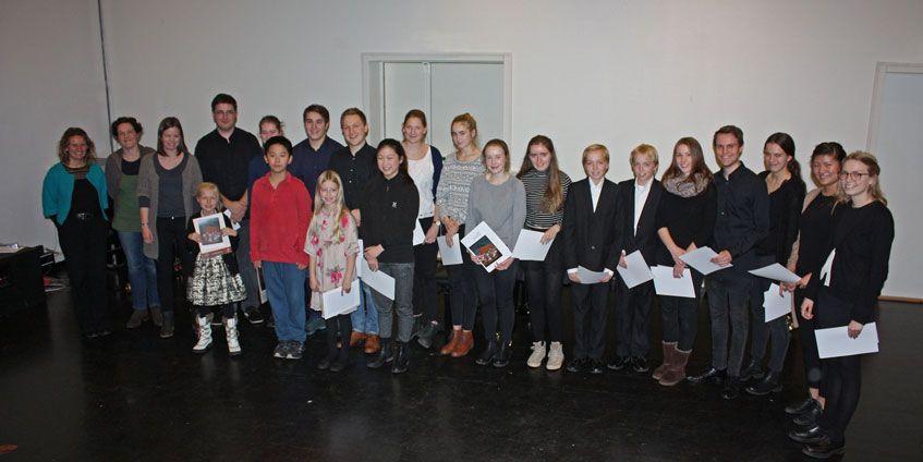 Deltagere og jury i UMM Trondheim 2015